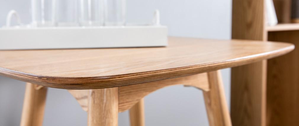Stehtisch rechteckig Eschenholz BALTIK