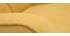 Stoffsessel mit senfgelbem Samteffekt und Holzfüßen AVERY