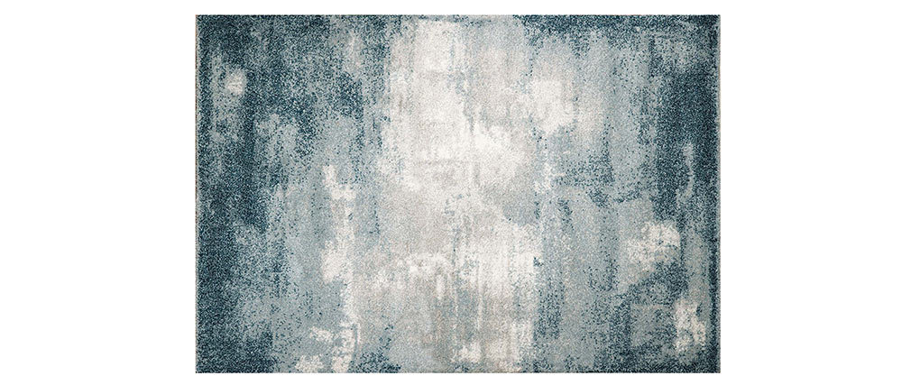 Teppich blau modern aus Polypropylen 160x230cm CHLOE