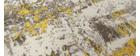 Teppich Elfenbeinfarben und Gelb 160 x 230 cm CAPS
