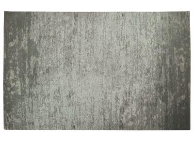 Teppich Grau Acryl - Baumwolle 155x230 STONE