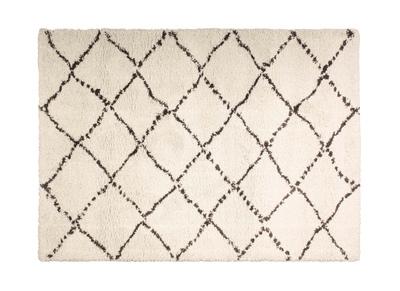 Teppich Polypropylen cremefarben 160 x 230 DAHRA