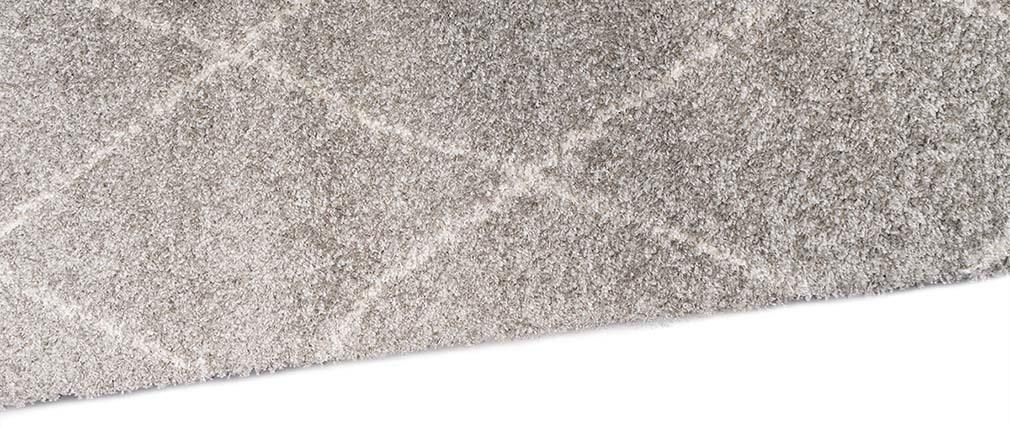 Teppich hellgrau  Teppich Polypropylen Hellgrau 160 x 230 DAHRA - Miliboo