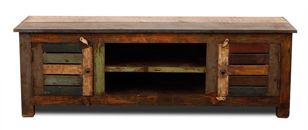 Möbel aus holz  TV-Möbel Holz recycelt MAYOTTE - Miliboo