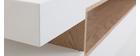 TV-Möbel Weiß und Holz LIVO - Miliboo |1| Stéphane Plaza