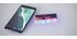 Vernetzter Multimedia-Schreibtisch - transparentes Glas und weißes Metall CLEVER