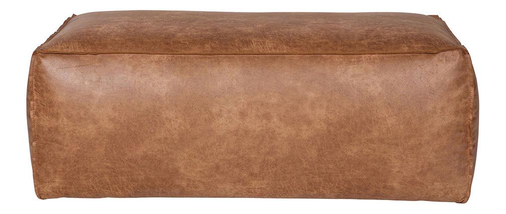 Vintage-Ledersitzkissen 120 cm ASPEN