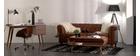 Vintage-Ledersofa 3 Sitzplätze CHESTERFIELD