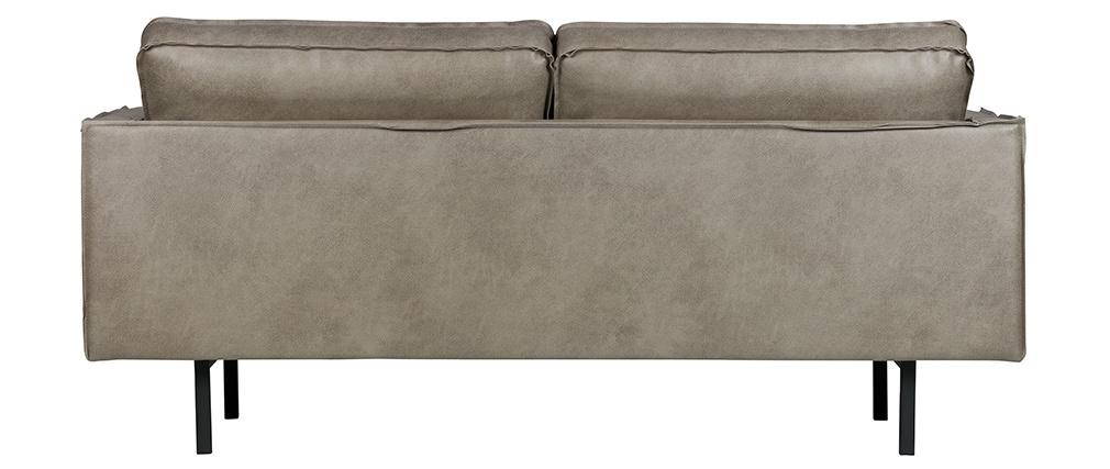 Vintage-Sofa 3 Sitzplätze Grau ASPEN