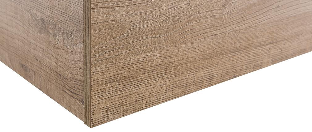 Wandelement COLORED quadratisch - Holz (honigfarben)