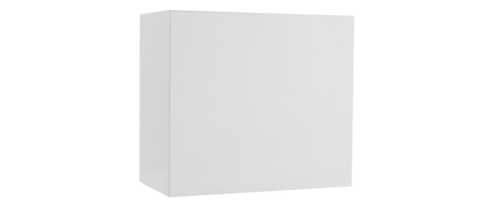 Wandelement COLORED quadratisch lackiert Weiß