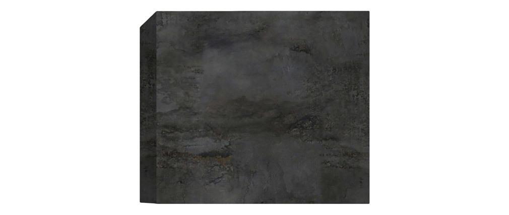 Wandelement quadratisch grau Oberfläche Rostoptik ETERNEL