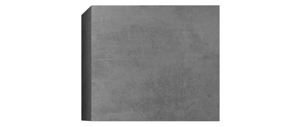 Wandelement quadratisch Oberfläche grau Betonoptik ETERNEL
