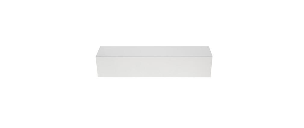 Wandelement TV COLORED horizontal oder vertikal weiß lackiert