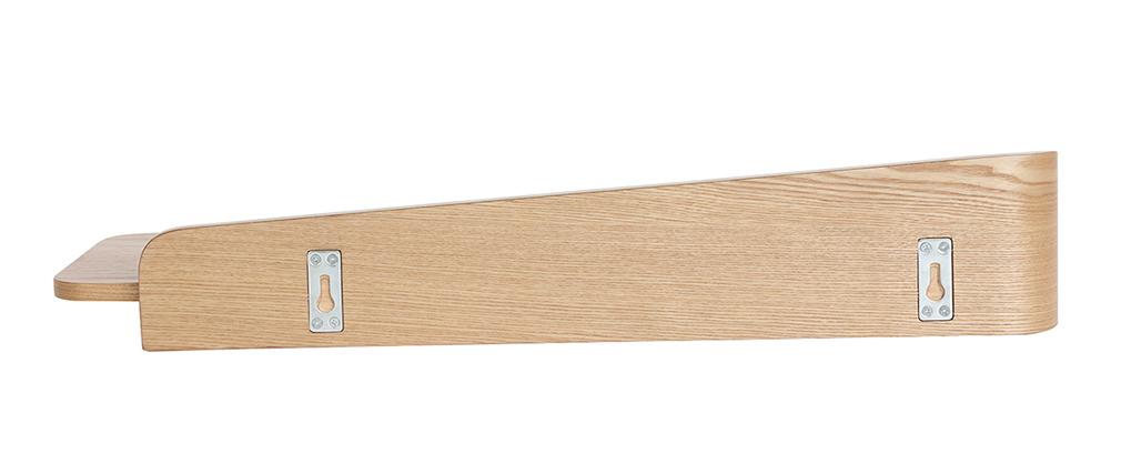 Wandregal Esche 76 cm NORDECO