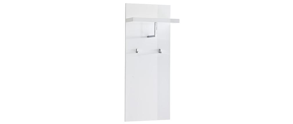 Wandregal Garderobe Eingang Weiß lackiert WELCOME