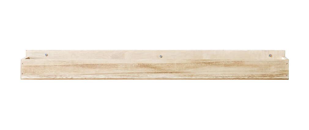 Wandregale Aus Holz wandregal helles holz 80 cm miliboo