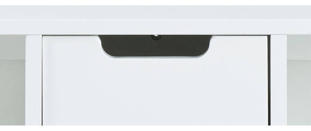 Weißes Design-Wandregal SNOOP