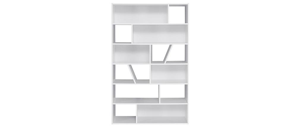 Weißes Designer-Bücherregal AZTEQUE - Miliboo & Stéphane Plaza